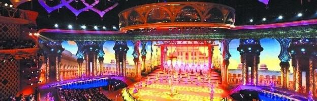 新疆大剧院自组织无线接入应急系统