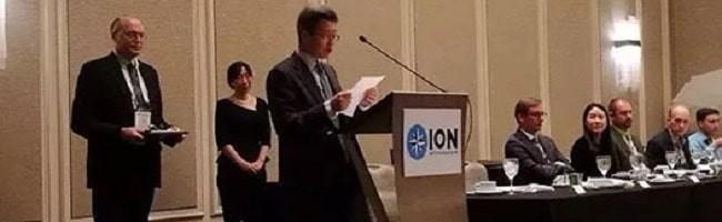 中国学者首次获得美国导航学会年度大奖